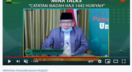 Imaam Yakhsyallah: Syarat Kemampuan Haji di Masa Pandemi adalah Ilmu
