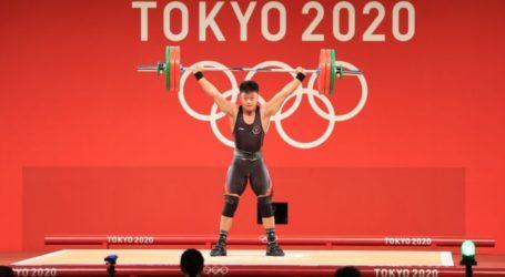 Olimpiade Tokyo: Lifter Rahmat Erwin Abdullah Sumbang Medali Ketiga