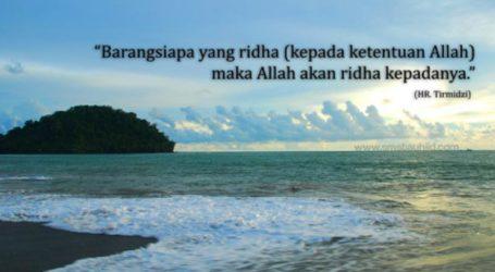 Ridha Allah Ta'ala
