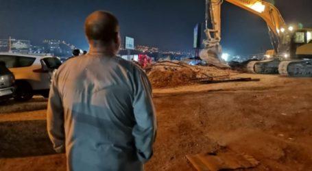 Israel Hancurkan Bangunan Pertokoan Palestina di Yerusalem