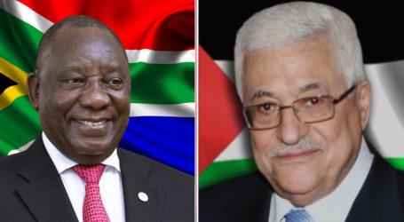 Presiden Afrika Selatan Tegaskan Dukungannya Terhadap Palestina