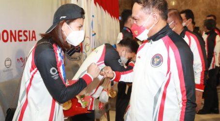 Greysia/Apriyani Bersama Kloter Ketiga Tim Olimpiade Tiba di Jakarta