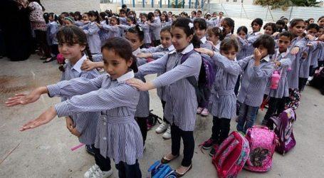 1,2 Juta Anak Palestina Kembali ke Sekolah