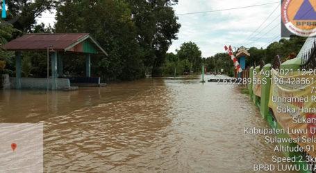 Banjir Rendam Kabupaten Luwu Utara Sulsel