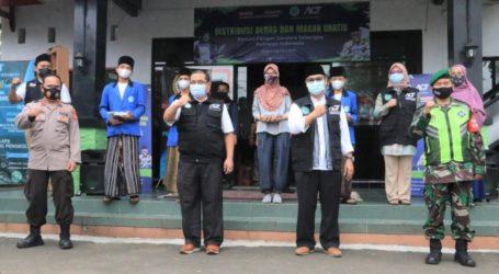 ACT bersama  MUI, TNI, Polri, Bergerak Atasi Pandemi Covid-19