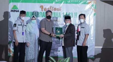 Imaam Yakhsyallah Terima Penghargaan Muhyiddin Hamidy 1443H/2021M
