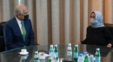 Menlu RI Temui Perwakilan Taliban di Qatar