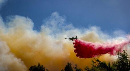 PM Israel Kunjungi Kebakaran Lahan Hebat di Wilayah Yerusalem