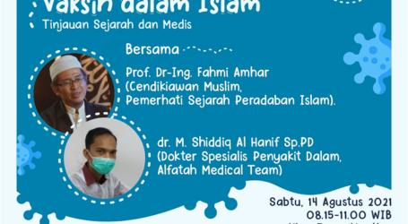 Prof. Fahmi Amhar: Vaksin adalah Warisan Peradaban Islam