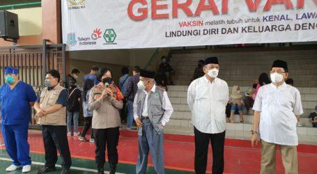 Gernas MUI Gelar Vaksinasi di UIN Jakarta