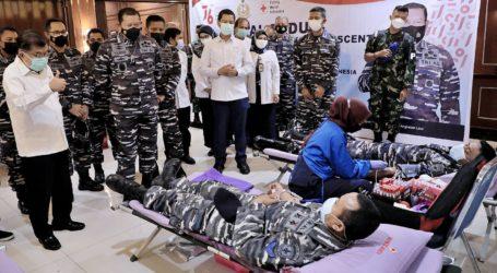 JK: Peran TNI dan POLRI Sangat Dibutuhkan Atasi Krisis Stok Darah dan Plasma Konvalesen