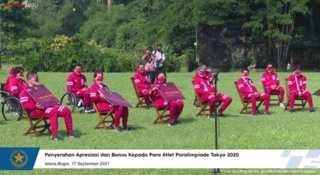 Presiden Beri Bonus Atlet Paralimpiade Tokyo 2020