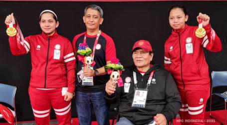 Ratri/Khalimatus Raih Medali Emas Pertama Indonesia di Paralimpiade Tokyo 2020