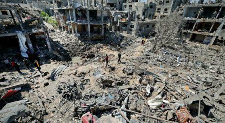 Gaza Bersiap Rekonstruksi Rumah yang Hancur Akibat Agresi Israel