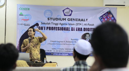 Legisan Samtafsir: Tiga Kiat untuk Dai Profesional di Era Digital