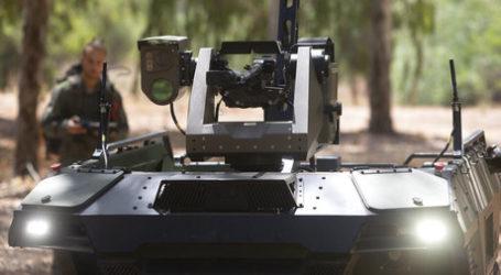 Perusahaan Israel Luncurkan Drone Robot Bersenjata untuk Patroli Perbatasan