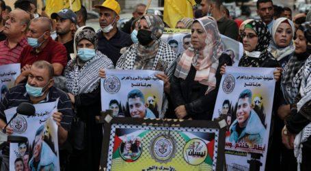 Ribuan Warga Gaza Demo Tuntut Pembebasan Tahanan di Penjara Israel