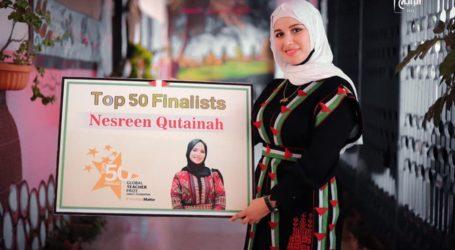 Guru Palestina Nesreen Qutainah Masuk Daftar 50 Guru Terbaik Dunia