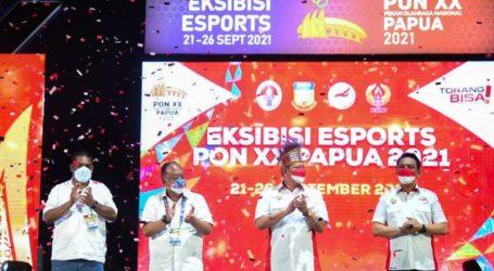 Eksibisi Esports PON XX Papua Resmi Ditutup