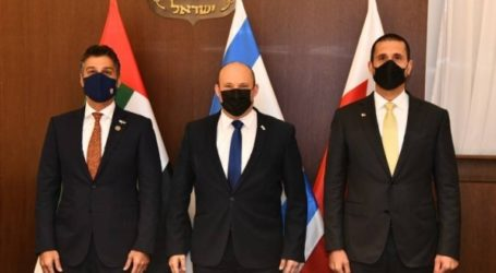 PM Israel Terima Kunjungan Dubes Bahrain dan UEA