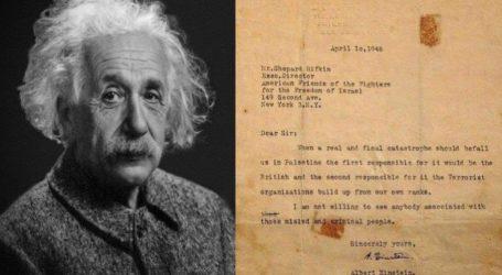 Einstein, Ilmuan Yahudi yang Tolak Pendirian Negara Israel