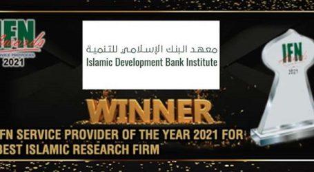 IsDB Institute Kembali Menangkan Penghargaan 'Lembaga Riset Ekonomi Islam Terbaik'