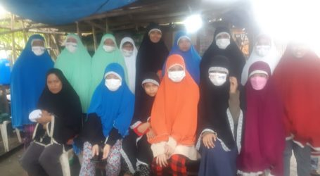 Asosiasi Pendidikan Islam Filipina Santuni 400 Mualaf dari Manila