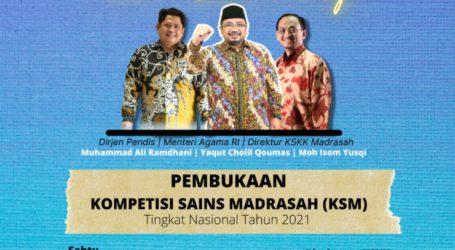 Kompetisi Sains Madrasah Nasional Gunakan Tiga Bahasa