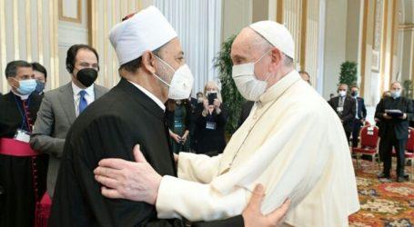 Imam Al-Azhar, Paus Fransiskus Komitmen Atasi Perubahan Iklim