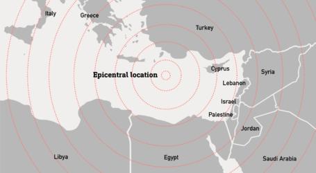 Gempa Berkekuatan 6,0 Skala Richter Guncang Mediterania Timur