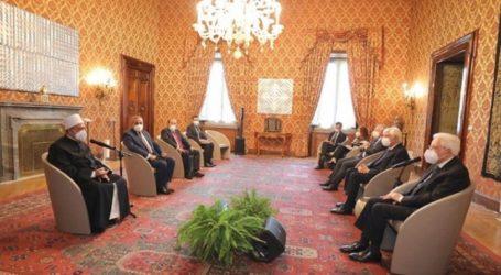 Presiden Italia dan Imam Al-Azhar Bahas Peran Pemimpin Agama Hadapi Krisis Global