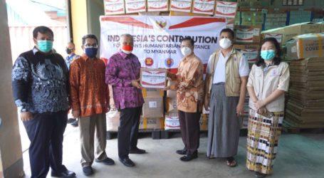 KBRI Yangon Serahkan Bantuan Kemanusiaan Indonesia untuk Myanmar