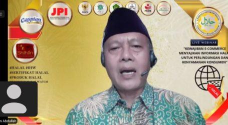 IHW Imbau Pelaku Usaha E-Commerce Wajib Cantumkan Informasi Halal