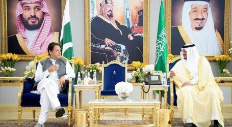 PM Pakistan Khan tiba di Saudi Hadiri KTT Inisiatif Hijau