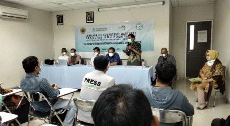 Fikom Universitas Moestopo Selenggarakan Uji Kompetensi Wartawan Angkatan Ke-18