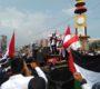 Pemuda Jama'ah Muslimin (Hizbullah) dan AWG Lampung Gelar Aksi Al-Aqsa Haqqunaa
